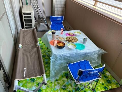 【ベランピングの始め方】我が家のベランダがキャンプ場(風)に!