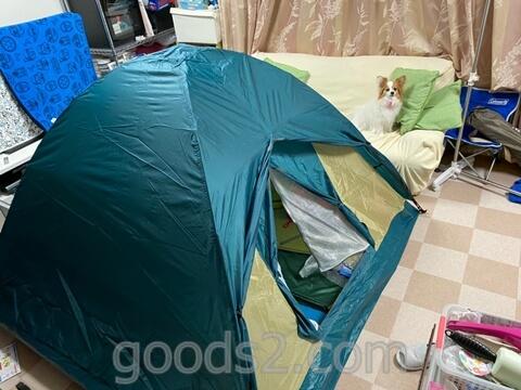 【自宅の室内でキャンプをする方法】我が家のリビング村キャンプ場