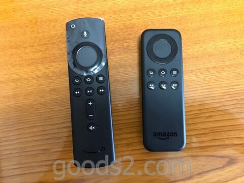 アマゾンFire TV Stickのリモコン比較