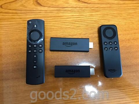 アマゾンFire TV Stickの新旧リモコン