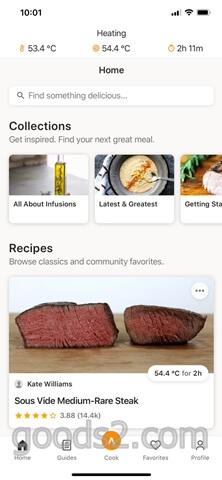 ステーキの低温調理温度と時間