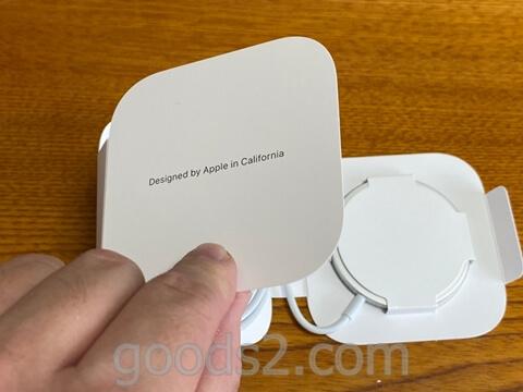 MagSafe充電器の箱の中身