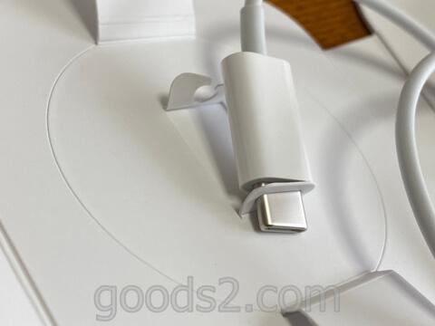 MagSafe充電器の端子のストッパー