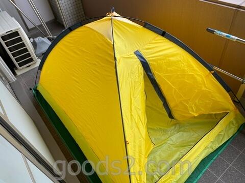 lovingskyのテントが立ち上がったところ