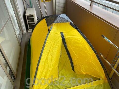 lovingskyのテントの完成