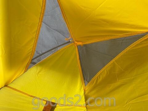 lovingskyのテントの上部のメッシュ