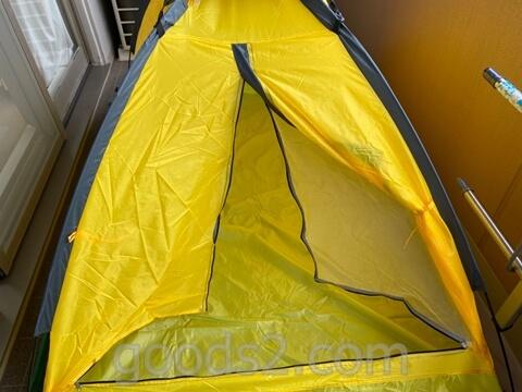 lovingskyのテントの出入り口部分