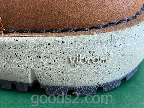 ダナー ヴァーティゴ917のミッドソールのビブラム印