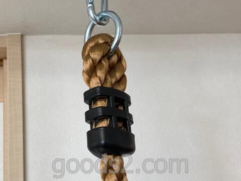 クライミングロープ取り付け部分