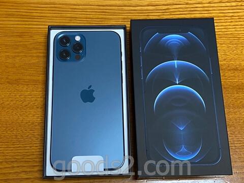 iPhone 12 Proの箱を開ける