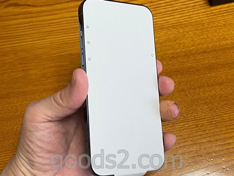 iPhone 12 Proのディスプレイシート