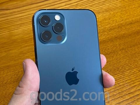 iPhone 12 Proのカメラ部分