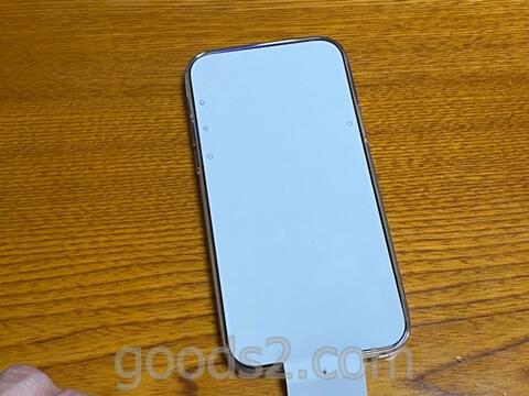 iPhone 12 Proのディスプレイのシート