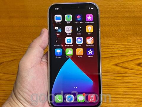 iPhone 12 Proのディスプレイ