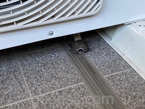 エアコンの室外機のドレインホース