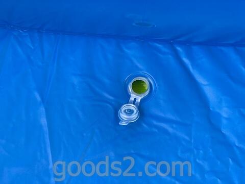 ハック ジャンボファミリープールの水抜き栓